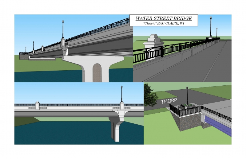 Stay up-to-date on the Water St. Bridge Construction